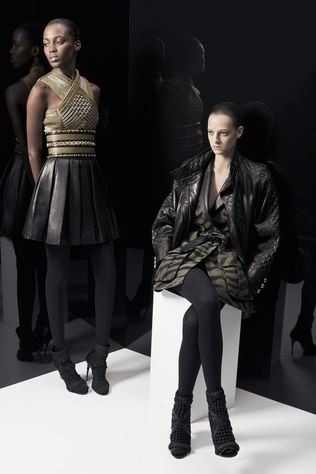 COLLECTION Ine Neefs & Kai Newman for Balmain Pre-Fall 2014. www.imageamplified.com, Image Amplified (4)