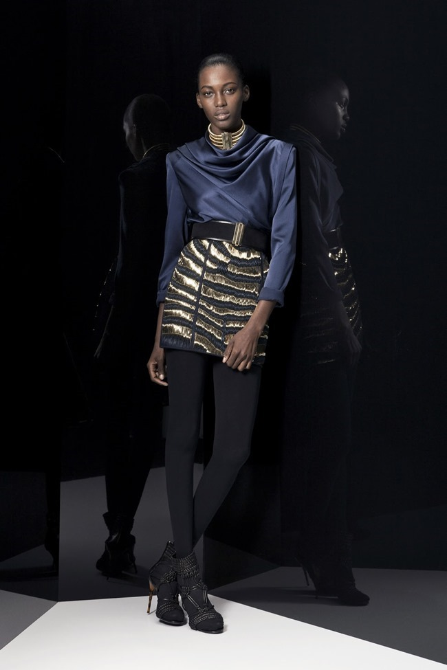COLLECTION Ine Neefs & Kai Newman for Balmain Pre-Fall 2014. www.imageamplified.com, Image Amplified (8)