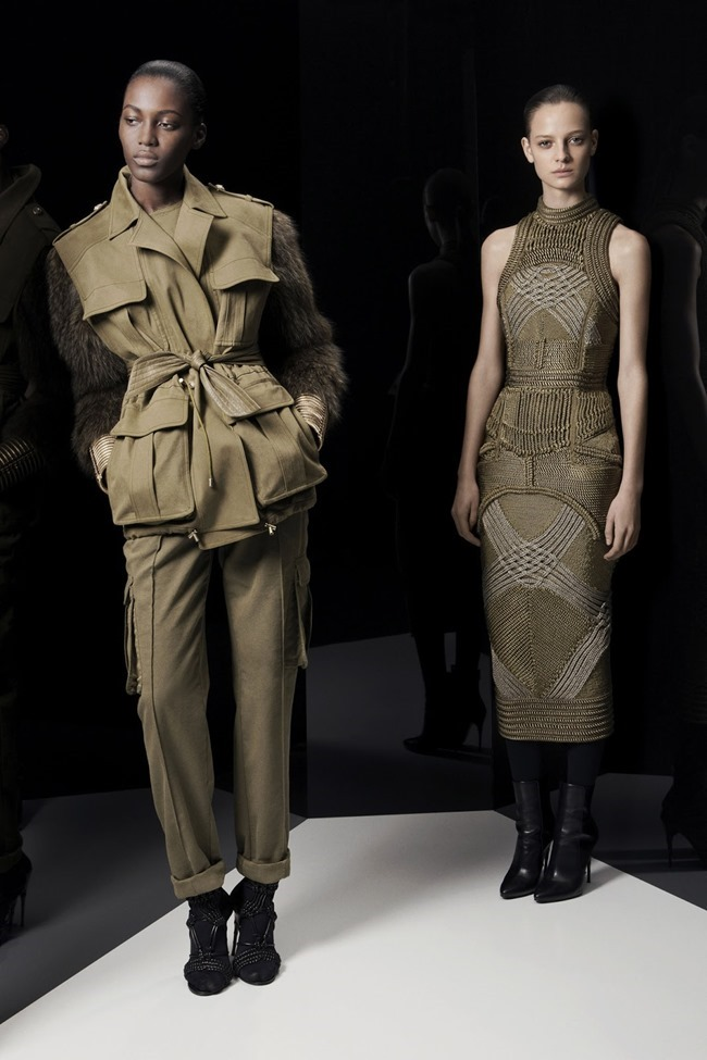 COLLECTION Ine Neefs & Kai Newman for Balmain Pre-Fall 2014. www.imageamplified.com, Image Amplified (17)