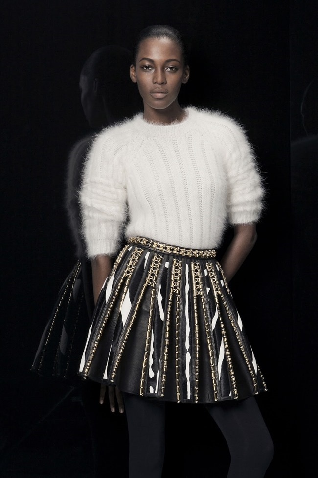 COLLECTION Ine Neefs & Kai Newman for Balmain Pre-Fall 2014. www.imageamplified.com, Image Amplified (29)