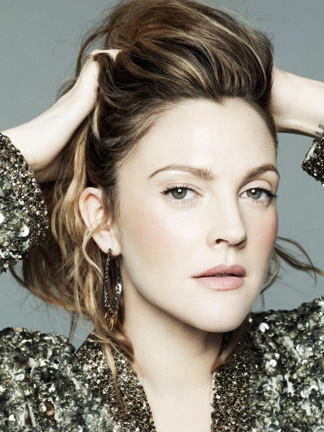 MARIE CLAIRE MAGAZINE Drew Barrymore in The Rebel Next Door by Jan Welters. Alison Edmond, February 2014, www.imageamplified.com, Image Amplified (7)