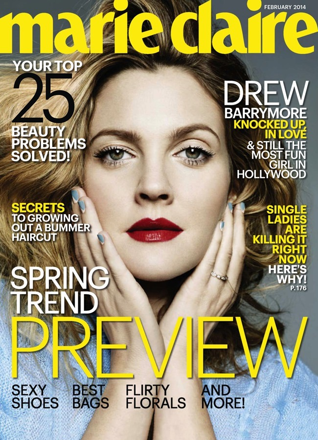 Marie Claire USA - February 2014