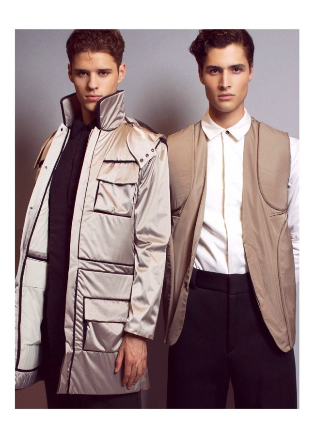 REFLEX HOMME Cody Morrison & Laurence Rodriguez in Neutrality by Patrick Lascina. Spring 2014, www.imageamplified.com, Image Amplified (2)