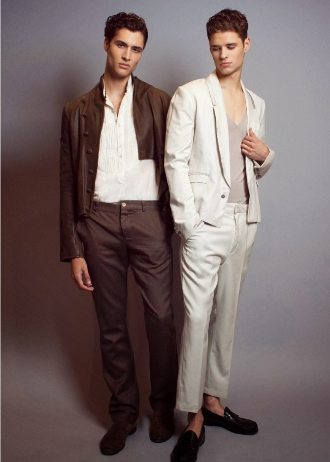REFLEX HOMME Cody Morrison & Laurence Rodriguez in Neutrality by Patrick Lascina. Spring 2014, www.imageamplified.com, Image Amplified (3)