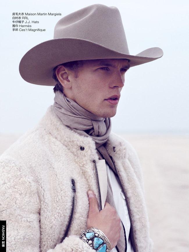 GQ CHINA Benjamin Eidem in Wild Cowboy by Bruno Staub. January 2014, www.imageamplified.com, Image Amplified (5)