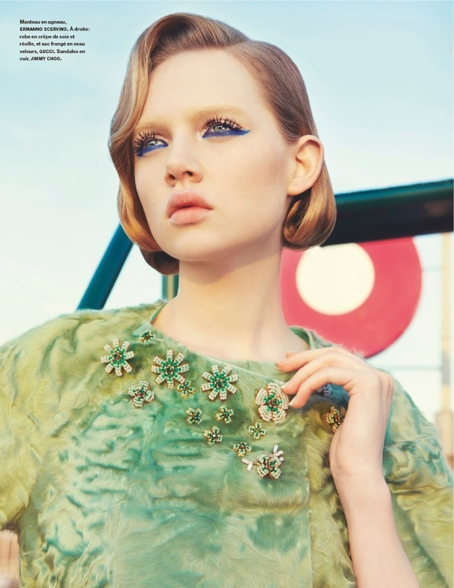NUMERO MAGAZINE Holly Rose in Champ De Courses by Kourtney Roy. Irina Marie, February 2014, www.imageamplified.com, Image amplified (3)