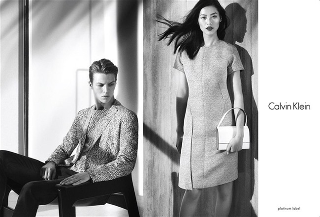 CAMPAIGN Liu Wen & Tim Schuhmacher for Calvin Klein Platinum Spring 2014. www.imageamplified.com, Image amplified (5)
