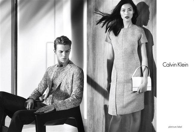 CAMPAIGN Liu Wen & Tim Schuhmacher for Calvin Klein Platinum Spring 2014. www.imageamplified.com, Image amplified (5)