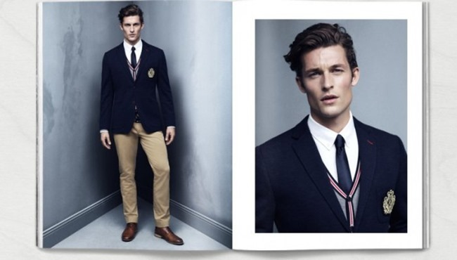 CAMPAIGN Wouter Peelen in Preppy Update for H&M Spring 2014. www.imageamplified.com, Image amplified (9)