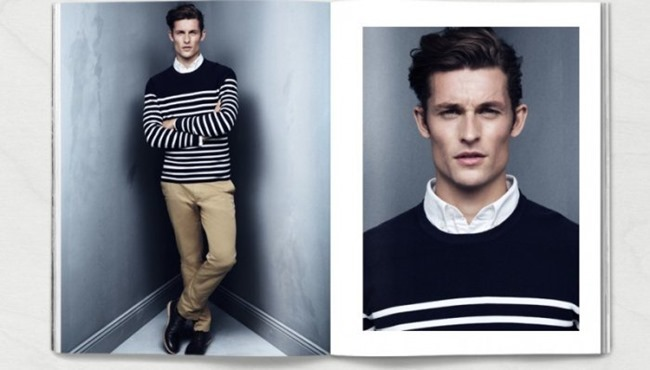 CAMPAIGN Wouter Peelen in Preppy Update for H&M Spring 2014. www.imageamplified.com, Image amplified (2)