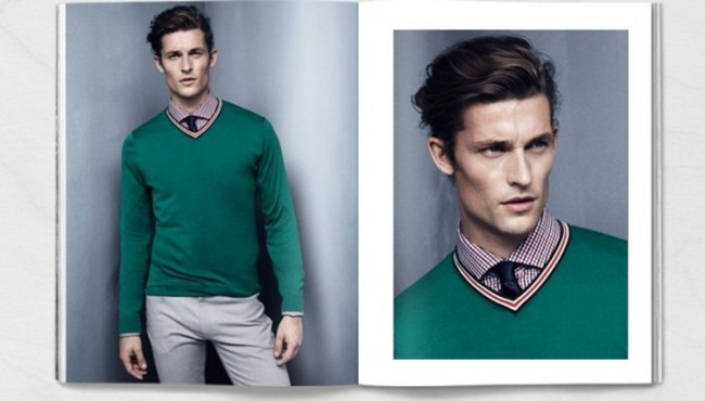CAMPAIGN Wouter Peelen in Preppy Update for H&M Spring 2014. www.imageamplified.com, Image amplified (3)
