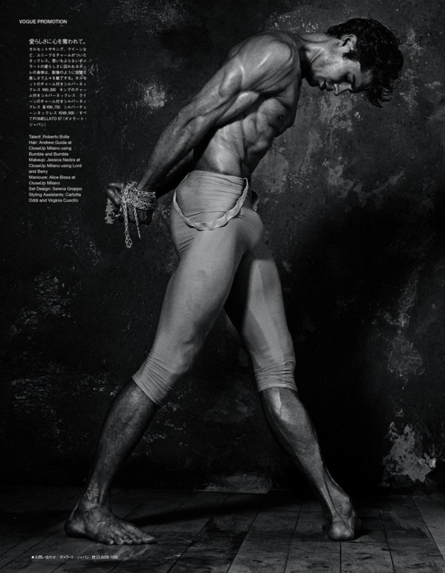 VOGUE JAPAN Roberto Bolle in The Night the Dancer Sparkled by Giampaolo Sgura. Spring 2014, www.imageamplified.com, Image Amplified (3)