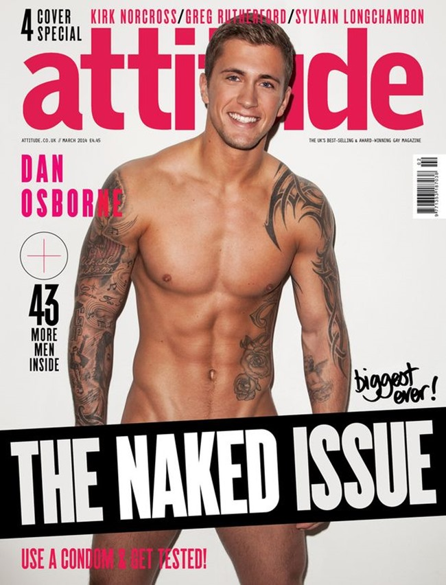 PREVIEW Kirk Norcross, Sylvain Longchambon, Dan Osborne & Greg Rutherford in The Naked Issue for Attitude UK, March 2014, www.imageamplified.com, Image Amplified (4)