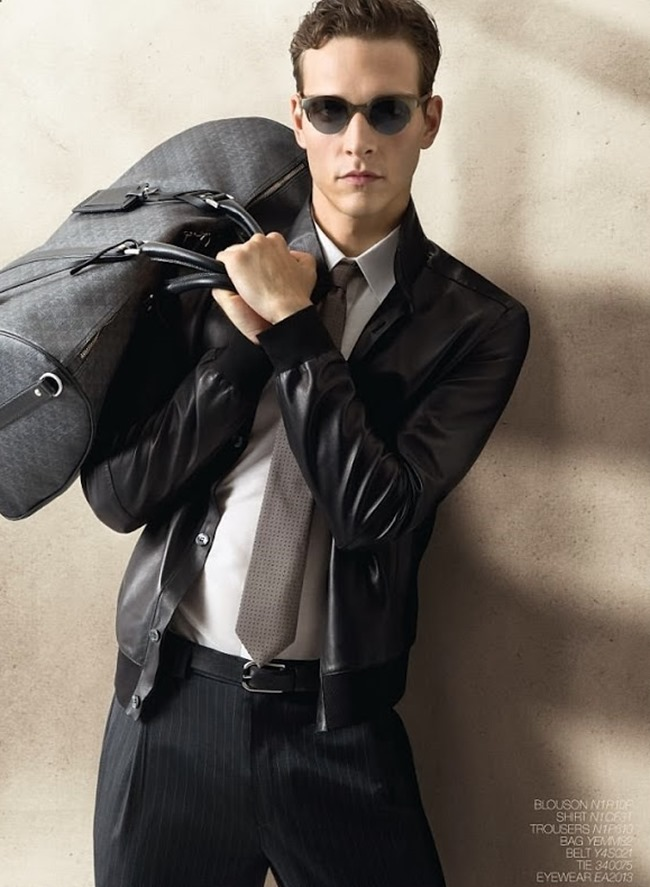 CAMPAIGN Alexandre Cunha for Emporio Armani Spring 2014. www.imageamplified.com, Image Amplified (6)