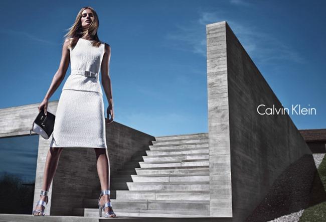 CAMPAIGN Edita Vilkeviciute & Tyson Ballou for Calvin Klein White Label Spring 2014 by Mario Sorrenti. George Cortina, www.imageamplified.com, Image Amplified (1)