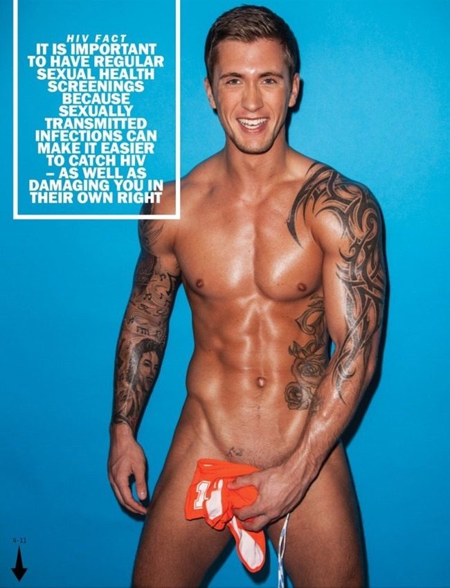 MASCULINE DOSAGE Dan Osborne in The Naked Issue for Attitude UK, March 2014. www.imageamplified.com, Image Amplified (4)