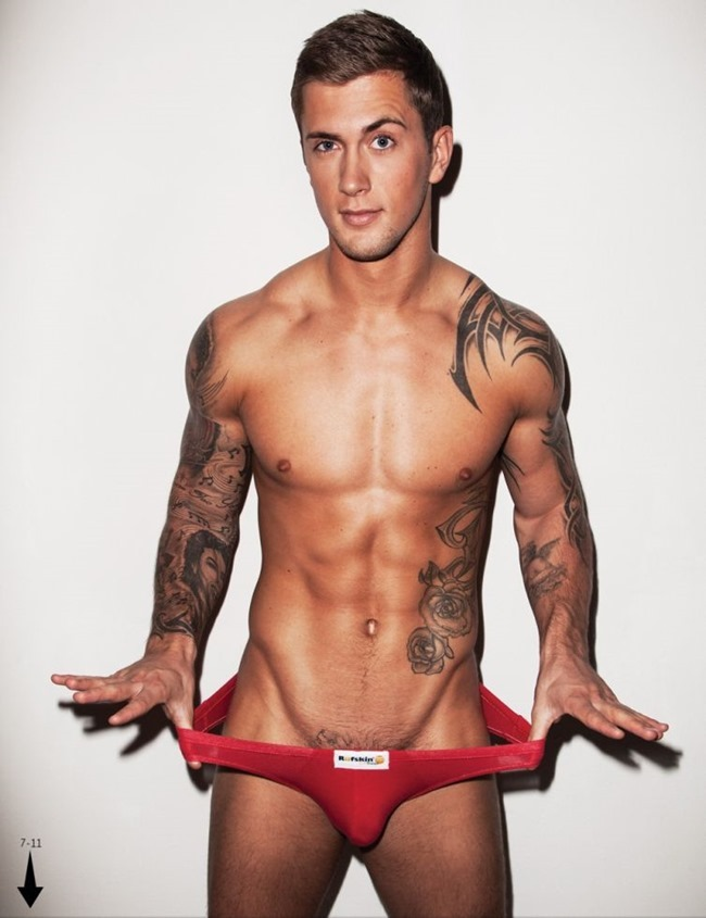 MASCULINE DOSAGE Dan Osborne in The Naked Issue for Attitude UK, March 2014. www.imageamplified.com, Image Amplified (5)
