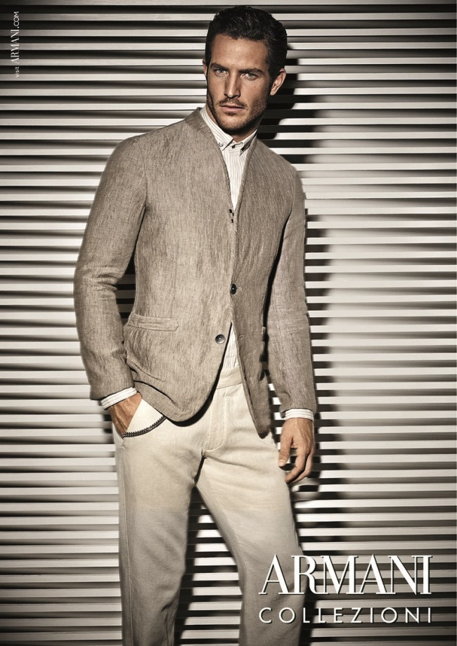 CAMPAIGN Justice Joslin for Armani Collezioni Spring 2014 by Giampaolo Sgura. Miguel Arnau, www.imageamplified.com, Image Amplified (3)