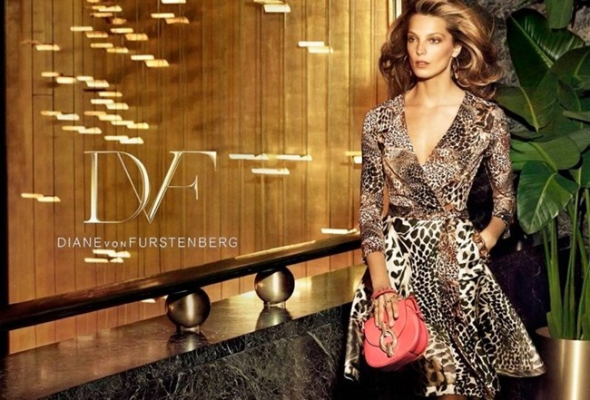 CAMPAIGN Daria Werbowy for Diane von Furstenberg Spring 2014 by Mikael Jansson. www.imageamplified.com, Image amplified (2)
