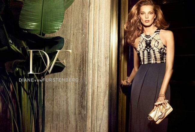 CAMPAIGN Daria Werbowy for Diane von Furstenberg Spring 2014 by Mikael Jansson. www.imageamplified.com, Image amplified (4)