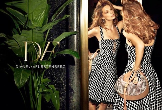CAMPAIGN Daria Werbowy for Diane von Furstenberg Spring 2014 by Mikael Jansson. www.imageamplified.com, Image amplified (7)