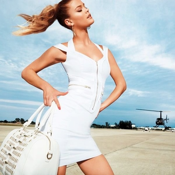 CAMPAIGN Nina Agdal for Bebe Spring 2014 by David roemer. www.imageamplified.com, Image Amplified (2)