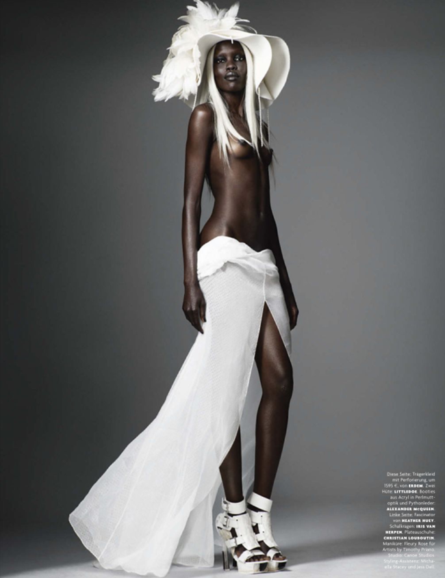 VOGUE GERMANY Black on Blonde by Mario Testino. Lori Goldstein , March 2014, www.imageamplified.com, Image amplified (7)