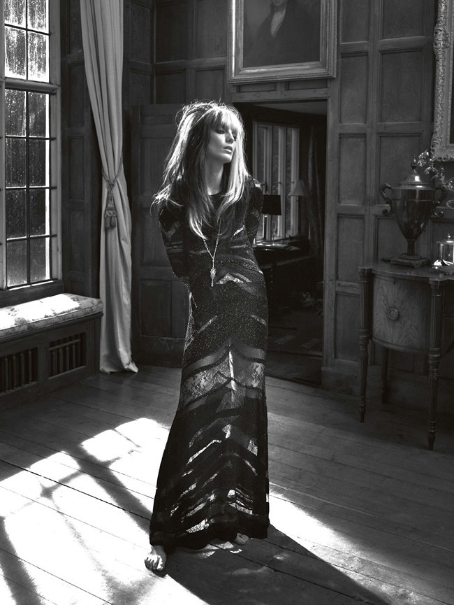 VOGUE UK Daria Werbowy in Cause Celebre by Mert & Marcus. Kate Moss, March 2014, www.imageamplified.com, Image Amplified (2)