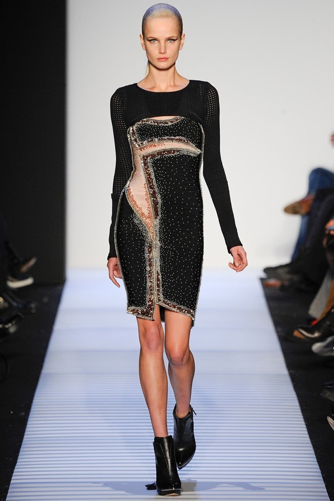 NEW YORK FASHION WEEK Herve Leger by Max Azria RTW Fall 2014. www.imageamplified.com, Image Amplified (28)