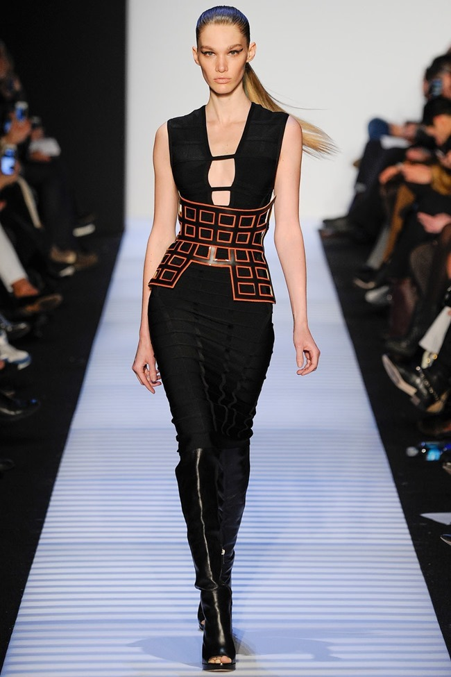 NEW YORK FASHION WEEK Herve Leger by Max Azria RTW Fall 2014. www.imageamplified.com, Image Amplified (6)