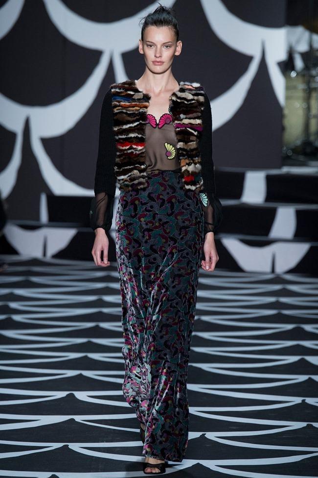 NEW YORK FASHION WEEK Diane von Furstenberg RTW Fall 2014. www.imageamplified.com, Image Amplified (23)