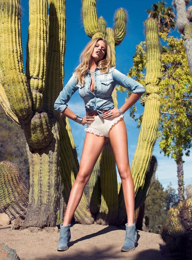 GUESS MAGAZINE Hailey Clauson in Fantasy Island by Stevie & Mada. Cat Wennekamp, Spring 2014, www.imageamplified.com, Image Amplified (8)
