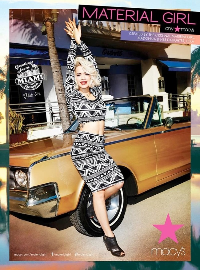 CAMPAIGN Rita Ora for Material Girl Spring 2014. www.imageamplified.com, Image Amplified (4)
