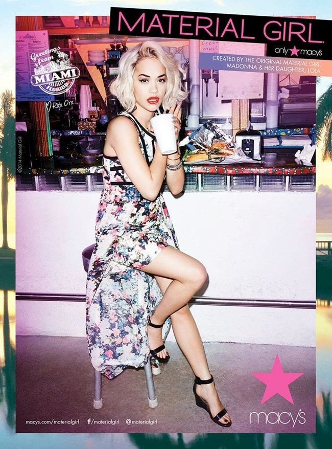 CAMPAIGN Rita Ora for Material Girl Spring 2014. www.imageamplified.com, Image Amplified (5)