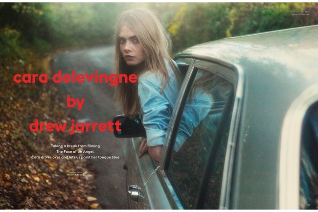 LOVE MAGAZINE Cara Delevigne by Drew Jarrett. Victoria Young, Spring 2014, www.imageamplified.com, Image Amplified (2)