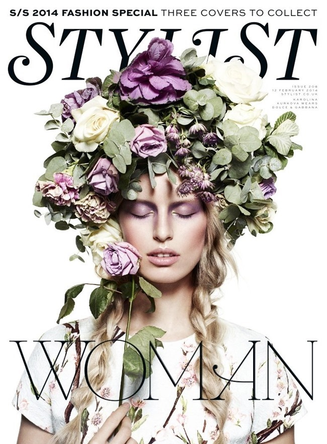 STYLIST MAGAZINE Karolina Kurkova in Every Woan by John-Paul Pietrus. Alexandra Fullerton, Spring 2014, www.imageamplified.com, Image Amplified (1)