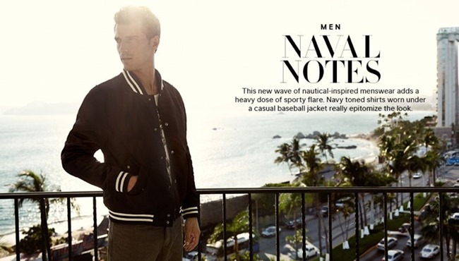 CAMPAIGN Clement Chabernaud in Naval Notes for H&M Spring 2014. www.imageamplified.comm, Image Amplified (2)