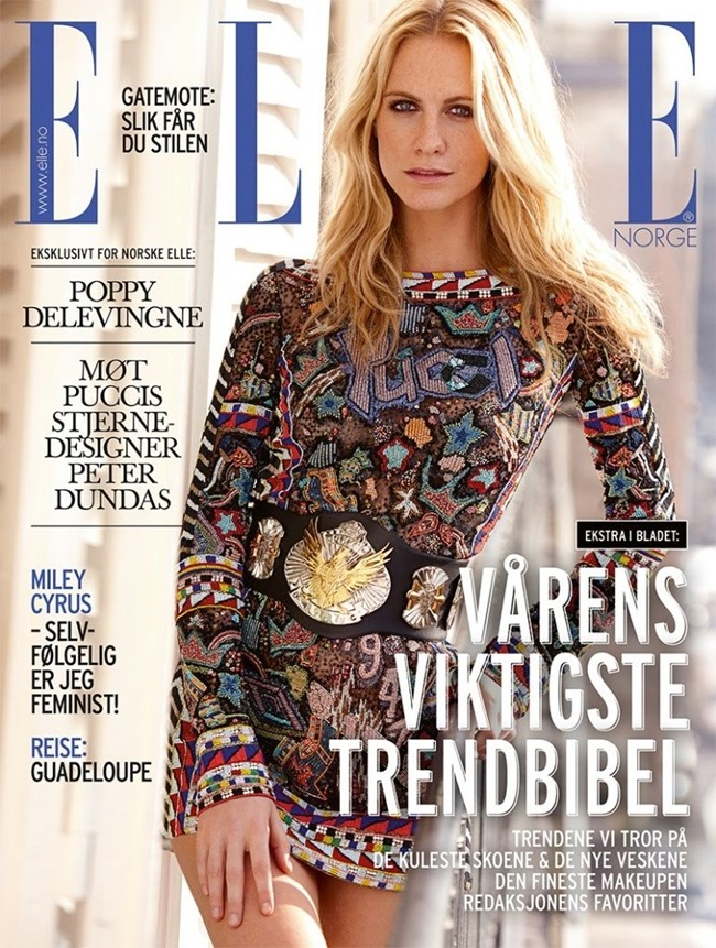 ELLE NORWAY Poppy Delevigne in Glamorama by Asa Tallgard. Spring 2014, www.imageamplified.com, Image amplified (2)