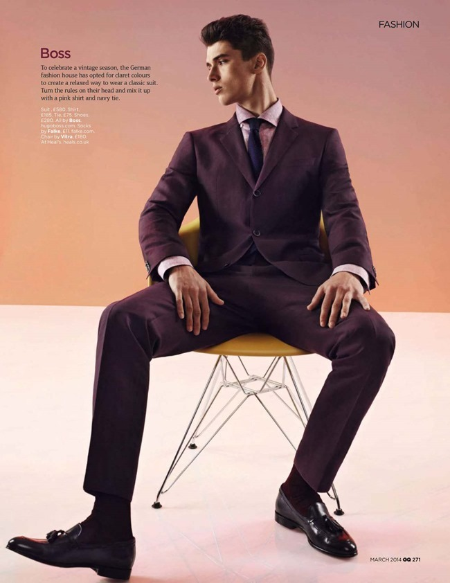 GQ MAGAZINE The Collections Spring 2014 by Guzman. Jo Levin, March 2014, www.imageamplified.com, Image Amplified (2)