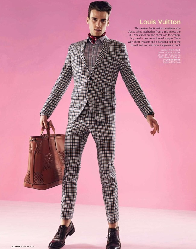 GQ MAGAZINE The Collections Spring 2014 by Guzman. Jo Levin, March 2014, www.imageamplified.com, Image Amplified (3)