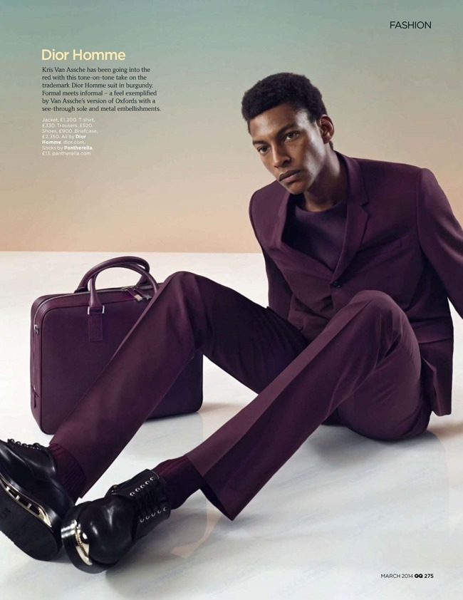 GQ MAGAZINE The Collections Spring 2014 by Guzman. Jo Levin, March 2014, www.imageamplified.com, Image Amplified (6)