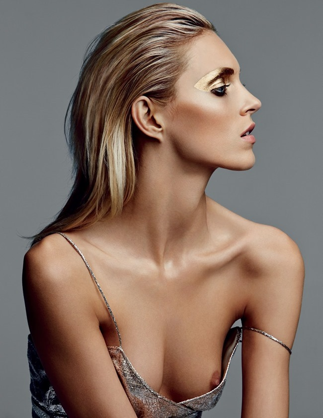 VOGUE RUSSIA Anja Rubik in The Gleam Eyes by Patrick Demarchelier. Olga Dunina, March 2014, www.imageamplified.com, Image amplified (2)