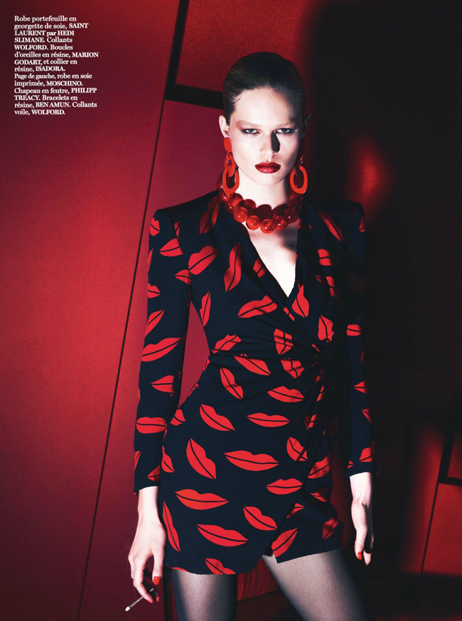 VOGUE PARIS Lara Stone, Anna Luisa Ewers & Amanda Wells in Fatale by Mert & Marcus. March 2014, www.imageamplified.com, Image amplified (8)