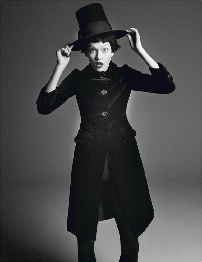 VOGUE PARIS Karlie Kloss in Affranchie by David Sims, March 2014, www.imageamplified.com, Image amplified (4)