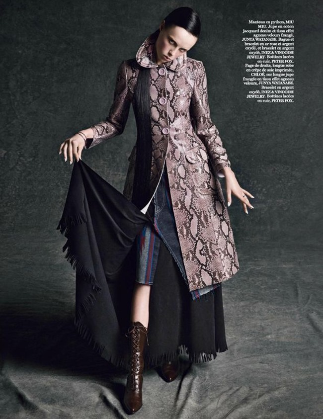VOGUE PARIS Edie Campbell in Portrait Of A Lady by Inez & Vinoodh. Joe McKenna, www.imageamplified.com, Image amplified (5)