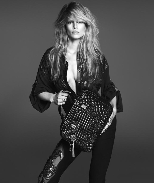 CAMPAIGN Anna Ewers for Versace Spring 2014 by Mert & Marcus. Joe McKenna, www.imageamplified.com, Image Amplified (2)
