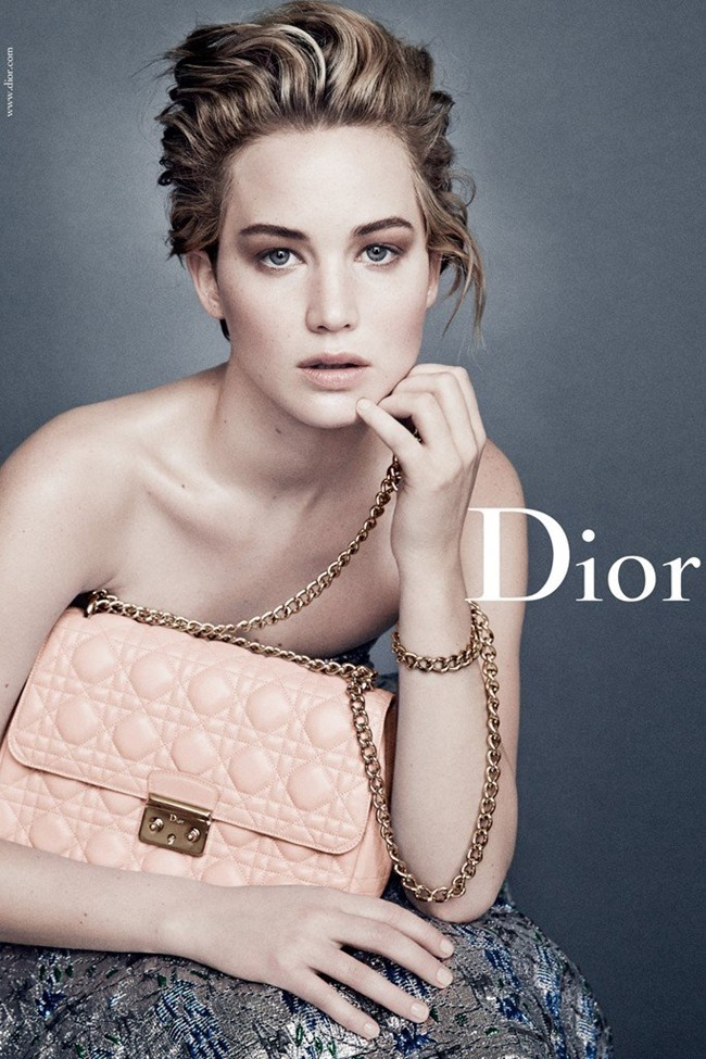 CAMPAIGN Jennifer Lawrence for Miss Dior Spring 2014 by Patrick Demarchelier. www.imageamplified.com, Image Amplified (3)