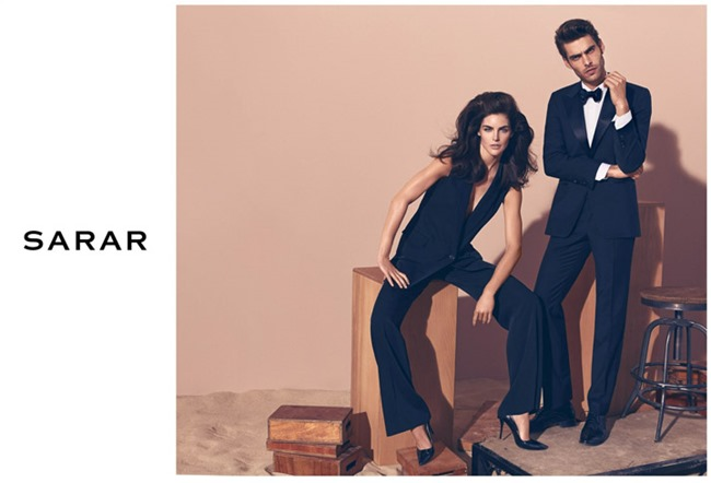 CAMPAIGN Jon Kortajarena & Hilary Rhoda for Sarar Spring 2014 by Koray Birand. www.imageamplified.com, Image Amplified (3)