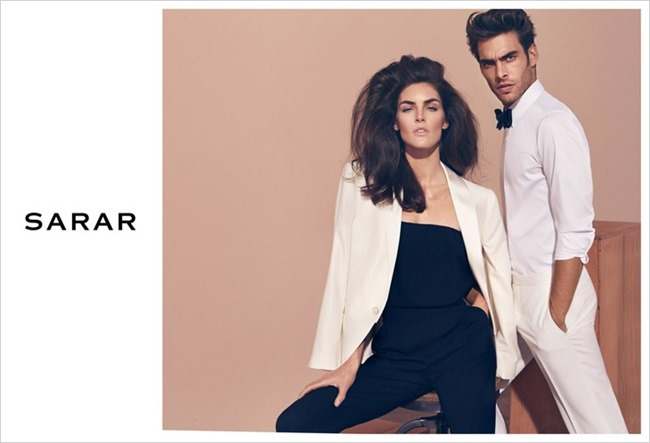 CAMPAIGN Jon Kortajarena & Hilary Rhoda for Sarar Spring 2014 by Koray Birand. www.imageamplified.com, Image Amplified (2)