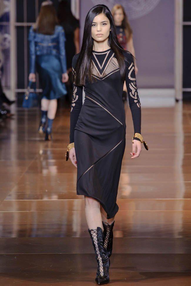 MILAN FASHION WEEK Versace RTW Fall 2014. www.imageamplified.com, Image Amplified (20)
